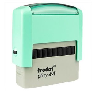 Carimbo Personalizado Trodat Printy 4911 P2 - Verde Bebê
