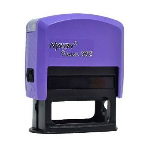 Carimbo Automático Nykon Black 302 - Violeta