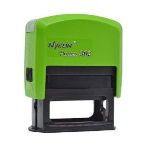 Carimbo Automático Nykon Black 302 - Verde Limão