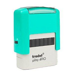 Carimbo Personalizado Trodat Printy 4910 P2 - Menta