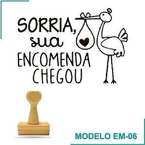 Carimbo Sua encomenda Chegou - EM-06