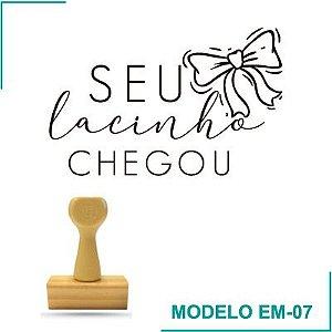 Carimbo Sua encomenda Chegou - EM-07