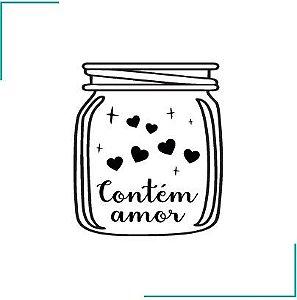 Carimbo Contém Amor - CA-01