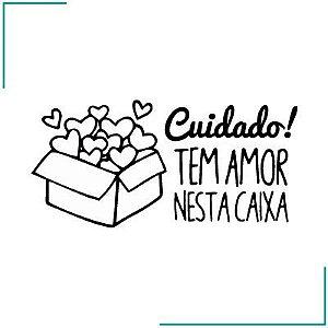 Carimbo Contém Amor - CA-03
