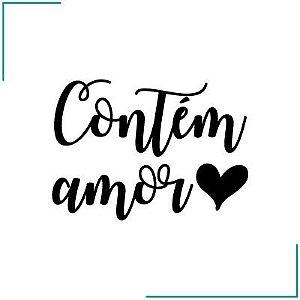 Carimbo Contém Amor - CA-06
