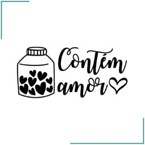 Carimbo Contém Amor - CA-09