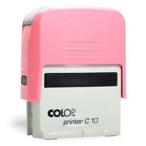 Carimbo Colop Printer 10 - Rosa Bebê