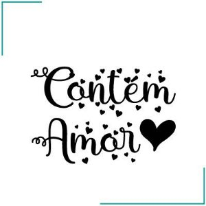Carimbo Contém Amor - CA-13