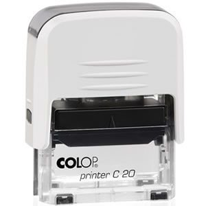 Carimbo Personalizado Colop Printer 20 - Branco
