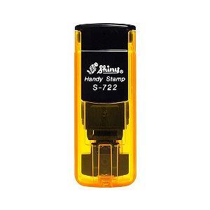 Carimbo de Bolso Shiny Handy Stamp - Laranja