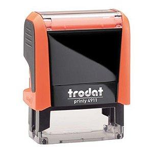 Carimbo Personalizado Trodat Printy 4911 P4 - Laranja Neon