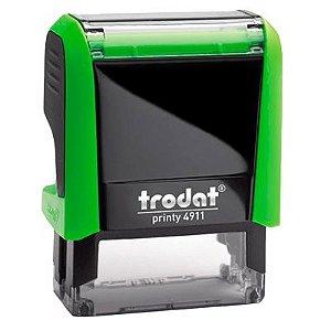 Carimbo Personalizado Trodat Printy 4911 P4 - Verde