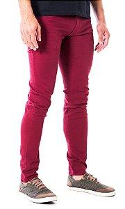 Calça Jeans Skinny Vinho Rota 77