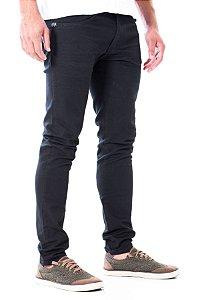 Calça Jeans Skinny Preta Rota 77