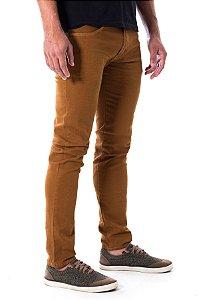 Calça Jeans Skinny Caramelo Rota 77