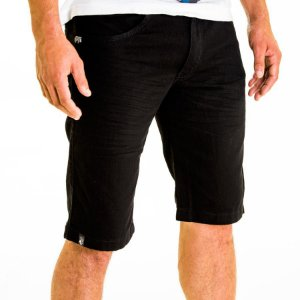 Bermuda Jeans Rota 77 Preta