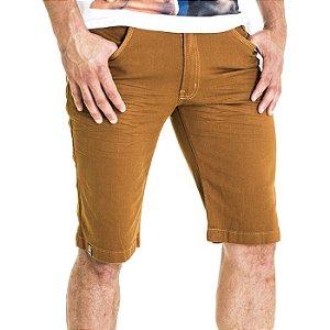 Bermuda Jeans Rota 77 Caramelo