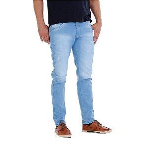 Calça Jeans Skinny Azul Claro Rota 77