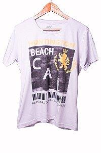 Camiseta Estampada Beach