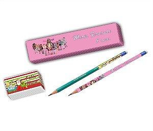Adesivo para lápis personalizado