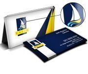 Cartão de visita - Colorido Frente (4 x 4 Cores CMYK) - Papel Co.300 gr - Verniz local Frente