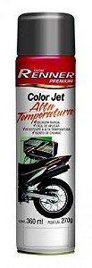 Tinta Spray Preto Alta Temperatura - Renner