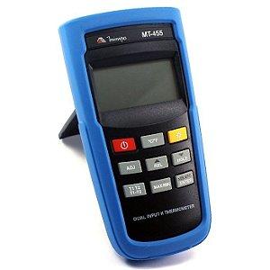 Termômetro Digital -200º+1372º:0,1 MT455 - Minipa
