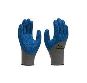 Luva Algodão Palma Azul Latex  - Super Safety