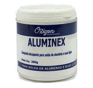 Fluxo para Solda Aluminio 200GR Aluminex - Oxigen