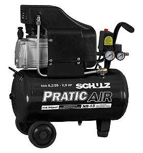 Motocompressor 8,2 CSA 25L 127V 2.0CV - Schulz