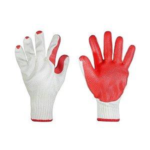 Luva algodão Palma Vermelha - Super Safety