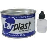 Massa Plástica 400gr com Catalizador - Carplast