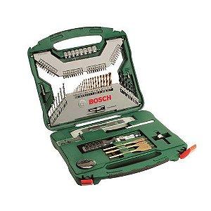 Kit Broca e Ferramentas 100 Peças X100TI - Bosch