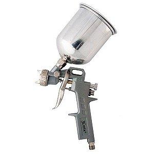Pistola De Pintura Gravidade Alta Pressão 600cc 3 Bicos - MTX