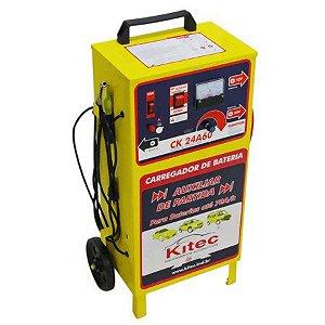 Carregador de Baterias e Auxiliar de Partida 70a/h Ck24a60-12/24v - Kitec