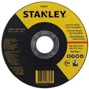 Disco Para Inox 4.1/2 X 7/8 - Stanley