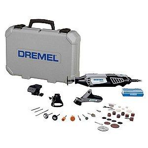 Micro Retífica 4000 com 36 Acessórios 110v 175W - Dremel