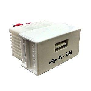Módulo 1 USB 5v - 2A Slim - Ilumi