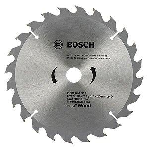 Serra Circular 7.1/4 X 20MM  24 Dentes Eco - BOSCH