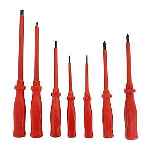 Jogo De Chave Fenda E Philips Com 7 Peças 602051 - Lee tools