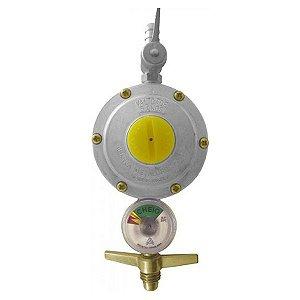 Regulador De Gás Grande C/ Manômetro 506/1 - Aliança