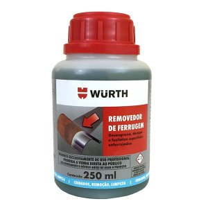 Removedor De Ferrugem 250ml - Wurth