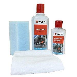 Kit Limpeza e Hidratação de Couro - Wurth