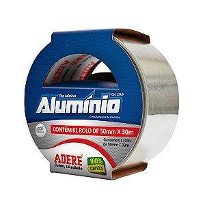 Fita Adesiva Alumínio 50mm X 30m 233 - Adere