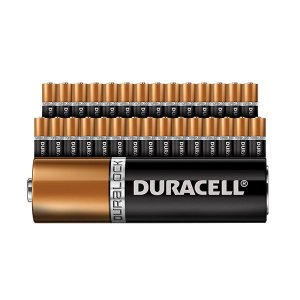 Kit 42 Pilhas Tipo AAA (pequena) Alcalina Original - Duracell