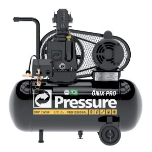 Compressor de Ar 7.6 Pés 50 Litros Onix ONP 7,6/50 I - 1HP - Pressure