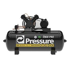 Compressor 15-175l Com Motor 3hp Onix Pro - Pressure