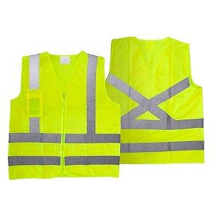 Colete Refletivo Blusão AM com Bolso - Super Safety