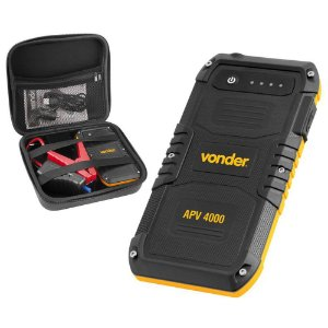 Auxiliar Partida Portátil com Carregador USB APV 4000 Bivolt - Vonder