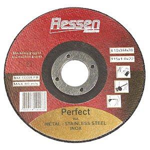 Disco de Corte para Inox 4.1/2 x 1,0mm 7/8 - Hessen